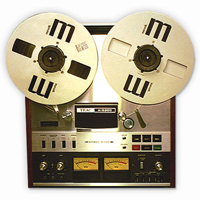 Reel to reel tape transfer